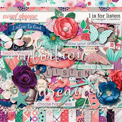 L is for Listen by Meagan's Creations