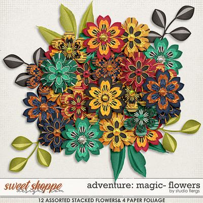 Adventure: Magic- FLOWERS by Studio Flergs