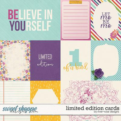 Limited Edition Cards by River Rose Designs