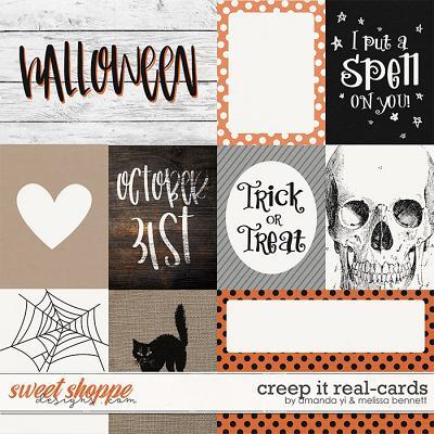 Creep it Real Cards by Amanda Yi & Melissa Bennett