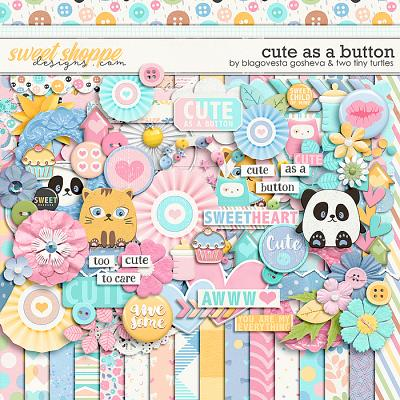 Cute As A Button :: Kit by Blagovesta Gosheva & Two Tiny Turtles