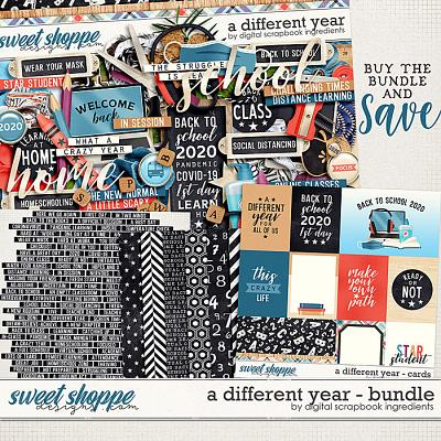 A Different Year Bundle by Digital Scrapbook Ingredients