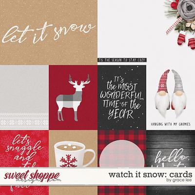 Watch It Snow: Cards by Grace Lee
