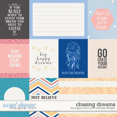 Chasing Dreams Cards by Sugary Fancy and WendyP Designs