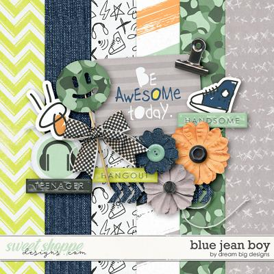Blue Jean Boy by Dream Big Designs