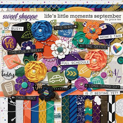 Life's Little Moments September by Grace Lee