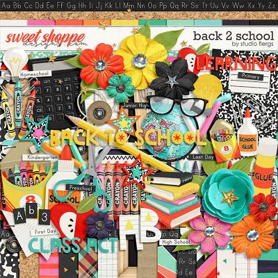 Back 2 School by Studio Flergs