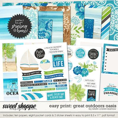 Easy Print: Great Outdoors Oasis by Kristin Cronin-Barrow