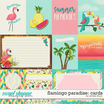 Flamingo Paradise: Cards by Amber Shaw