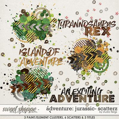 Adventure: Jurassic- SCATTERZ by Studio Flergs