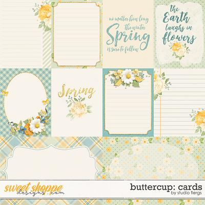 Buttercup: CARDS by Studio Flergs