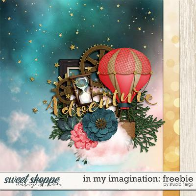 In My Imagination FREEBIE by Studio Flergs
