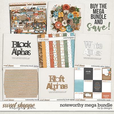 Noteworthy Mega Bundle by LJS Designs