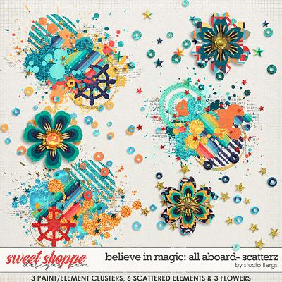 Believe in Magic: ALL ABOARD- SCATTERZ by Studio Flergs
