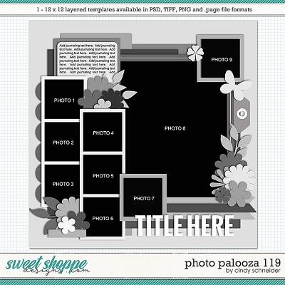 Cindy's Layered Templates - Photo Palooza 119 by Cindy Schneider