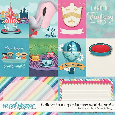 Believe in Magic: Fantasy World Cards by Amber Shaw & Studio Flergs