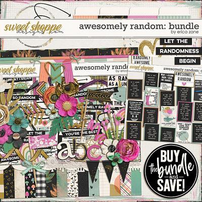 Awesomely Random: Bundle by Erica Zane
