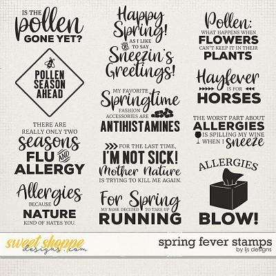 Spring Fever Stamps by LJS Designs