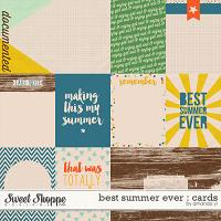 Best Summer Ever : Cards by Amanda Yi