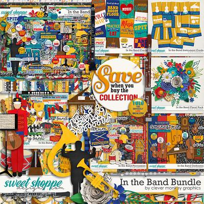 In the Band Bundle by Clever Monkey Graphics