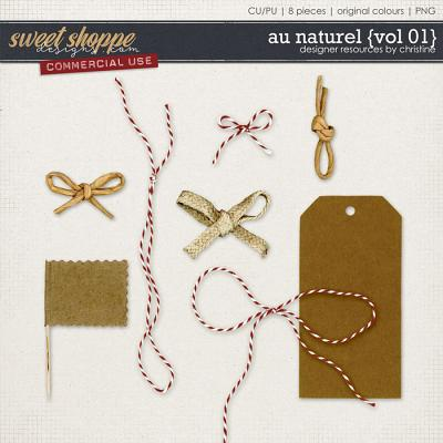 Au Naturel {Vol 01} by Christine Mortimer