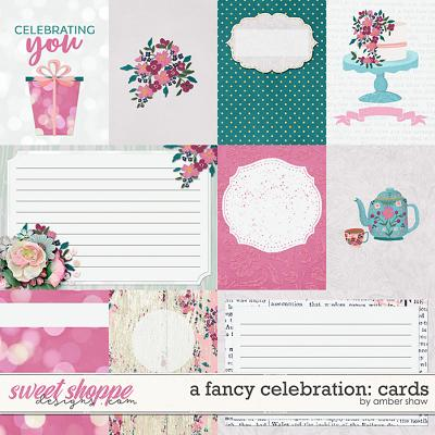 A Fancy Celebration: Cards by Amber Shaw