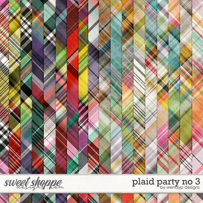 Plaid party no.3 by WendyP Designs