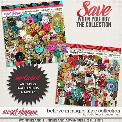 Believe in Magic: Alice Colletion by Amber Shaw & Studio Flergs