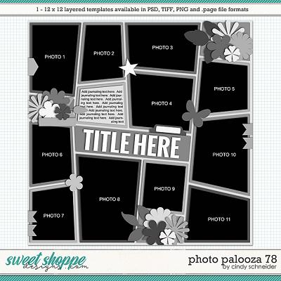 Cindy's Layered Templates - Photo Palooza 78 by Cindy Schneider