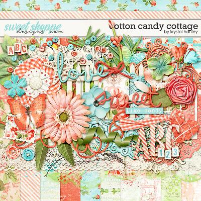 Cotton Candy Cottage by Krystal Hartley