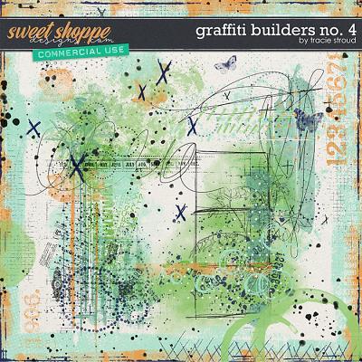 CU Graffiti Builders no. 4 by Tracie Stroud
