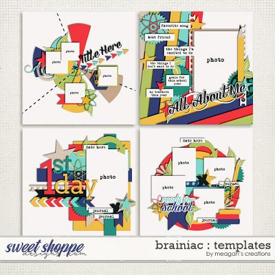 Brainiac : Templates by Meagan's Creations