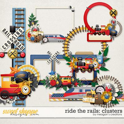 Ride the Rails: Clusters by Meagan's Creations
