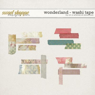Wonderland Washi Tape by On A Whimsical Adventure