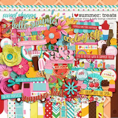 I Heart Summer: Treats by Amber Shaw & Kelly Bangs Creative