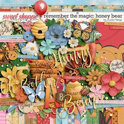 Remember the Magic: HONEY BEAR by Studio Flergs