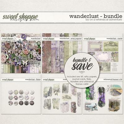 Wanderlust Bundle by On A Whimsical Adventure