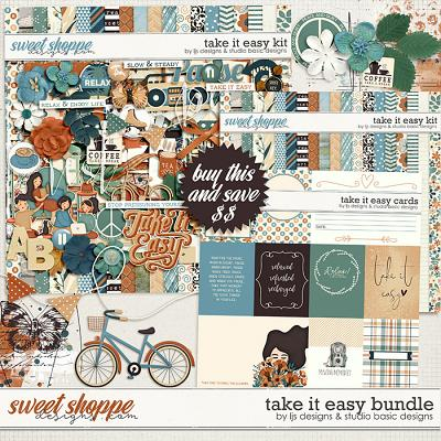 Take It Easy Bundle by LJS Designs and Studio Basic Designs