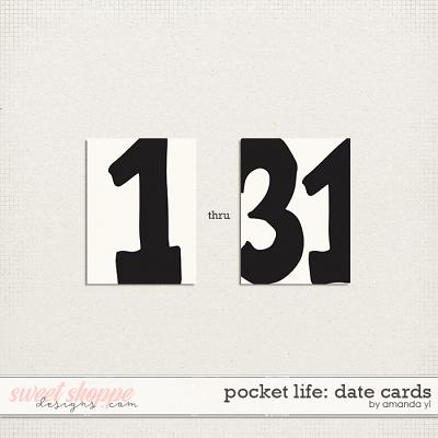 Pocket Life: Date Cards by Amanda Yi