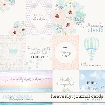 Heavenly Journal Cards by Jady Day Studio