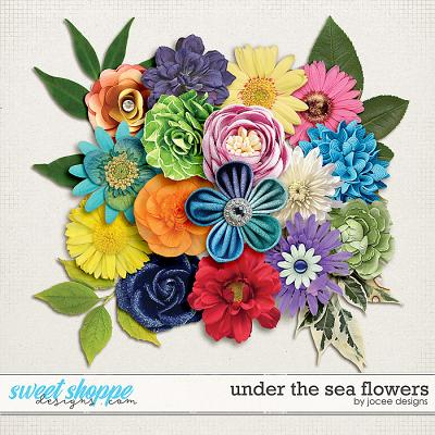 Under the Sea Flowers by JoCee Designs