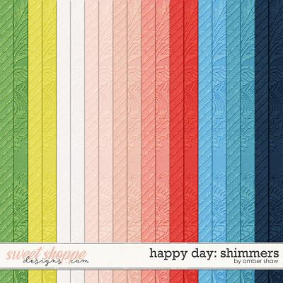 Happy Day: Shimmers by Amber Shaw