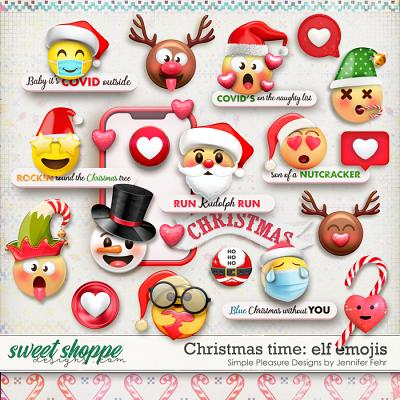 Christmas time | elf emoji fun: simple pleasure designs by jennifer fehr