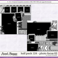 Cindy's Layered Templates - Half Pack 124: Photo Focus 62 by Cindy Schneider