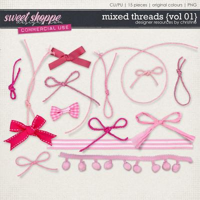Mixed Threads {Vol 01} by Christine Mortimer