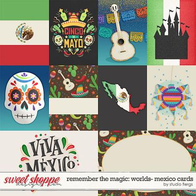 Remember the Magic: WORLDS- MEXICO: CARDS by Studio Flergs