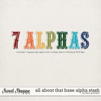 All About That Base Alpha Stash by Libby Pritchett