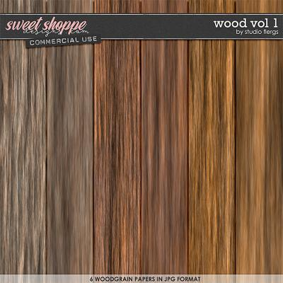 Wood VOL 1 by Studio Flergs