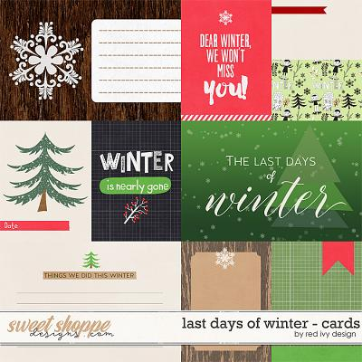 Last Days of Winter - Cards by Red Ivy Design