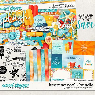 Keeping Cool Bundle by Digital Scrapbook Ingredients